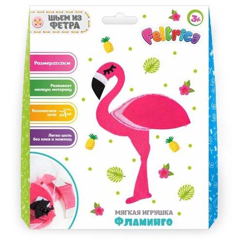 Купить Feltrica Набор для изготовления Шьем из фетра Фламинго (4627151963655), Изготовление кукол и игрушек