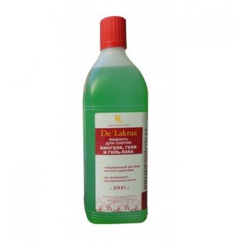 De'Lakrua Жидкость для снятия биогеля 1000 мл