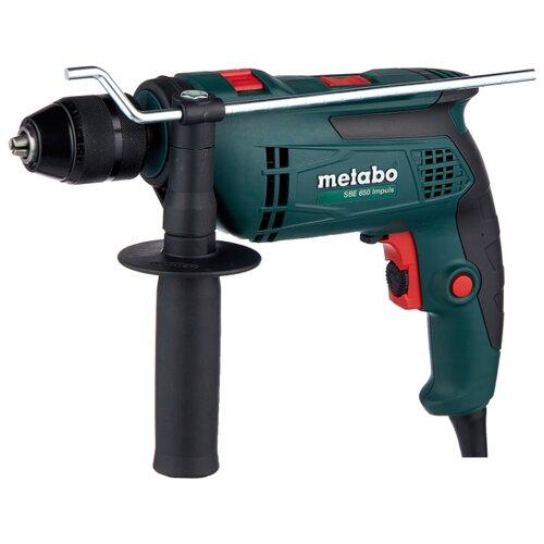 Дрель ударная Metabo SBE 650 Impuls коробка 650 Вт metabo sbe 650 600671000 ударная дрель