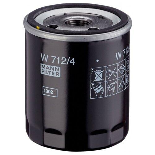 Масляный фильтр MANNFILTER W 712/4 масляный фильтр mannfilter w 712 4