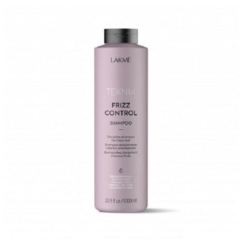 Lakme шампунь Teknia Frizz Control дисциплинирующий для непослушных или вьющихся волос 1000 мл