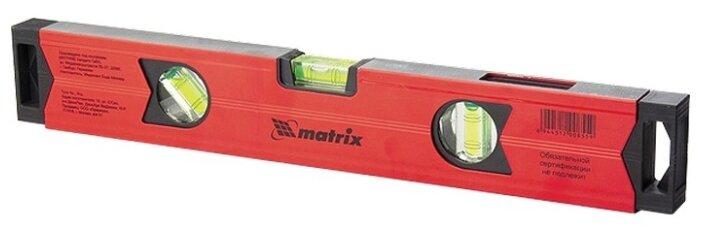 Уровень брусковый 3 глаз. matrix 34704 40 см