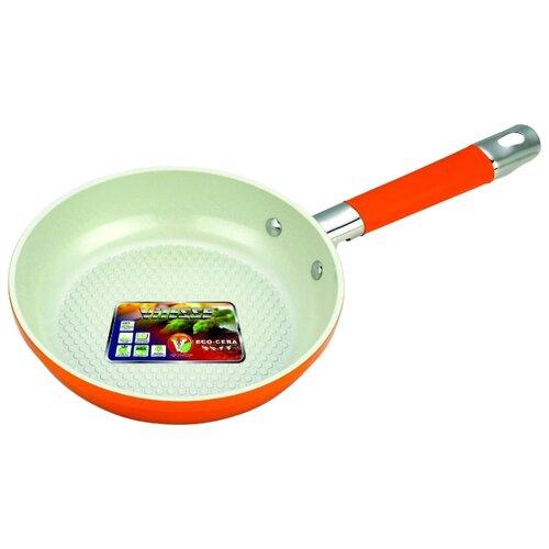 Сковорода Vitesse VS-2283 24 см, оранжевый сковорода d 24 см kukmara кофейный мрамор смки240а