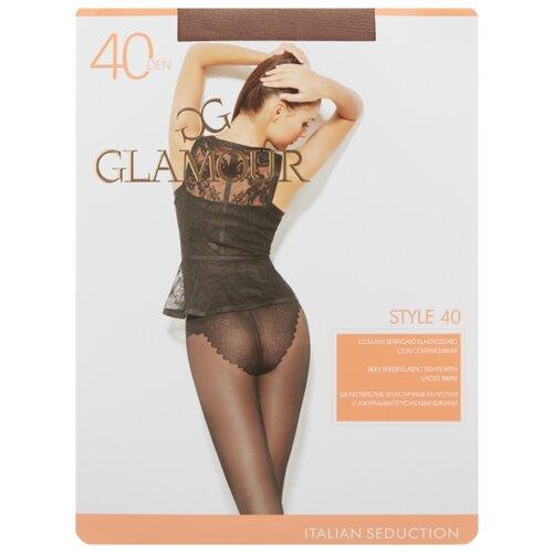 Колготки Glamour Style 40 den, размер 5-XL, daino (бежевый) колготки glamour betulla 40 den размер 5 xl daino коричневый