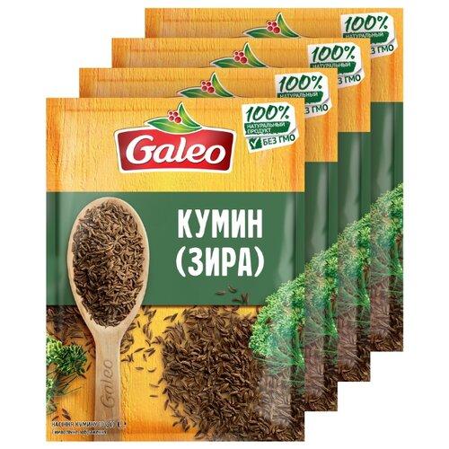 Galeo Пряность Зира (кумин), 4х10 г гранум пряность кумин зира семена сушеные 180 г