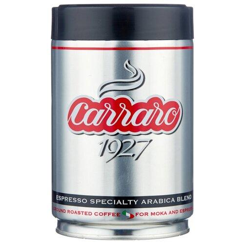 Фото - Кофе молотый Carraro 1927, 250 г кофе молотый carraro india 250 г