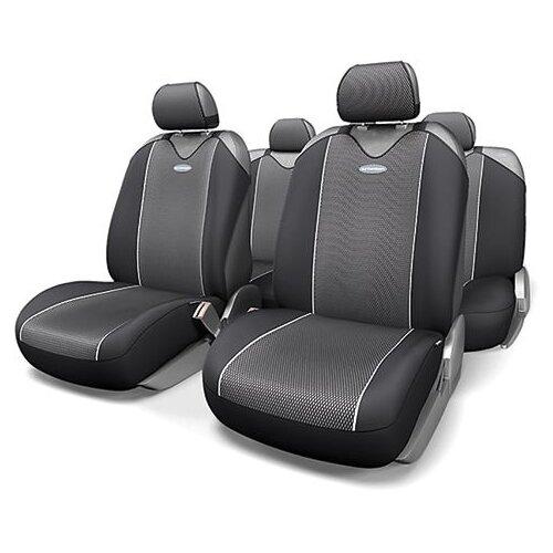 цена на Комплект чехлов AUTOPROFI CRB-902P серый/черный
