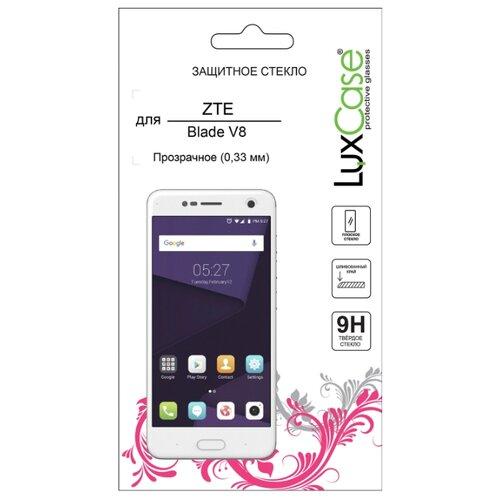 Защитное стекло LuxCase для ZTE Blade V8 прозрачный