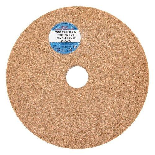 Шлифовальный круг Волжский абразивный завод 200х20х32 25А Р60 круг шлифовальный волжский аз 1 300 х 40 х 127 64с f46 k l 40см