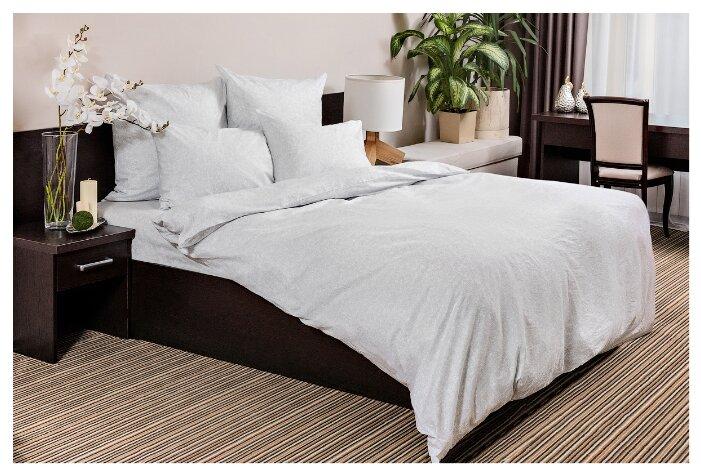 Постельное белье 2-спальное Ночь Нежна Белое кружево 70х70 см, бязь белый