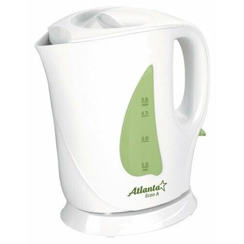 чайник atlanta ath 2437 white Чайник Atlanta ATH-717, белый/зеленый