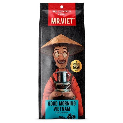 Кофе в зернах Mr.Viet Good Morning Vietnam, робуста, 500 г good morning vietnam original motion picture sountrack