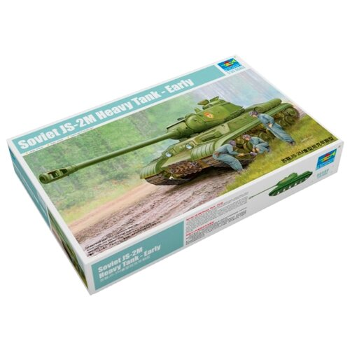 Сборная модель Trumpeter Soviet JS-2M Heavy Tank - Early (05589) 1:35 realts trumpeter 01024 1 35 ex soviet 2p19 launcher w r 17 missile ss 1c scud b of 8k14 missile system