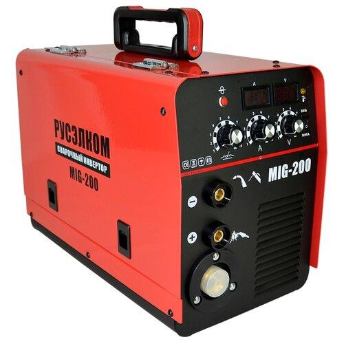 Сварочный аппарат РУСЭЛКОМ MIG 200 (MIG/MAG, MMA)