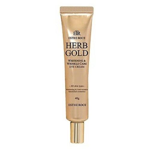 Estheroce Крем для век омолаживающий Estheroce Herb Gold Whitening & Wrinkle Care Eye Cream 40 г недорого