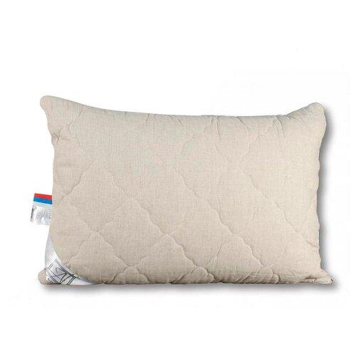 Подушка АльВиТек Лён (ПЛН-050) 50 х 68 см льняной