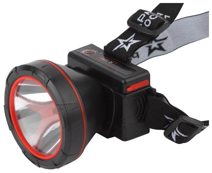 Налобный фонарь ЭРА GA-803, черный [б0033766]
