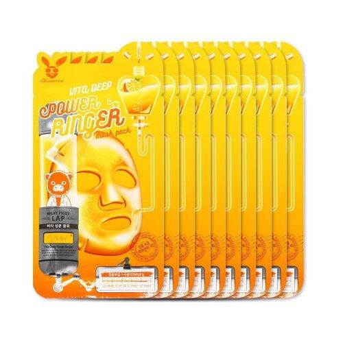 Elizavecca Тканевая маска Vita Deep Power Ringer Mask Pack, 23 мл, 10 уп. недорого