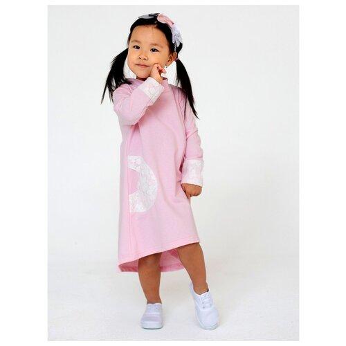 Платье Дашенька размер 86, розовый
