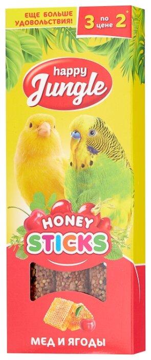 Лакомство для птиц Happy Jungle мед