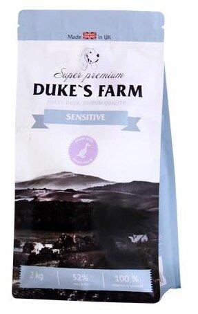 Корм для собак DUKE'S FARM утка