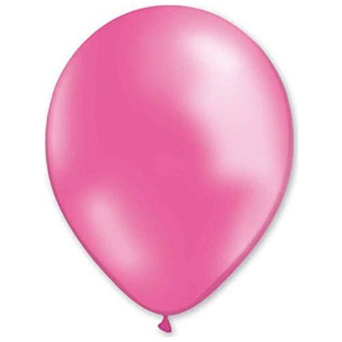 Набор воздушных шаров MILAND Металлик 21 см (100 шт.) розовый