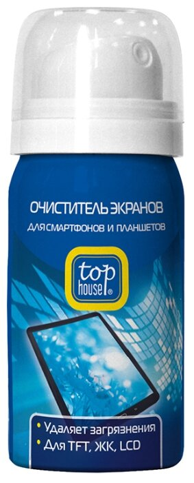 Top House Очиститель чистящий спрей для экрана