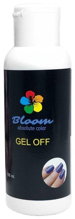 Жидкость для снятия гель-лака Bloom ( усиленная формула), 100 мл.