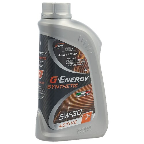 Моторное масло G-Energy Synthetic Active 5W-30 1 л