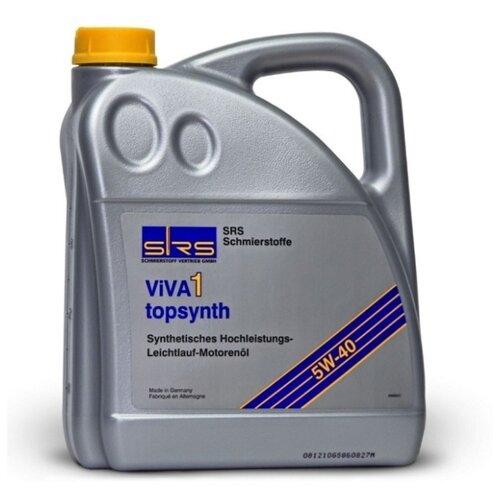 Моторное масло SRS VIVA 1 Topsynth 5W40 4 л