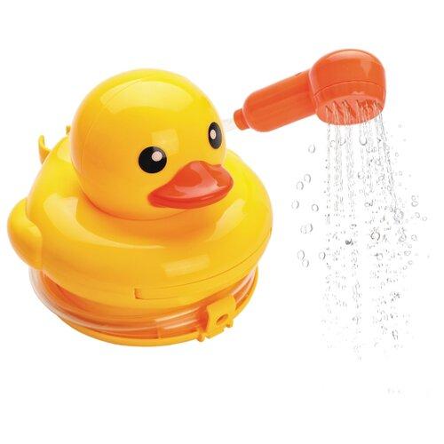 Игрушка для ванной Жирафики Утенок (939582) желтый/красный игрушка для ванной yako утенок
