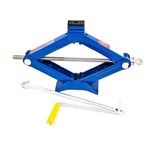 Домкрат винтовой механический AUTOVIRAZH AV-071105 (1.5 т) синий