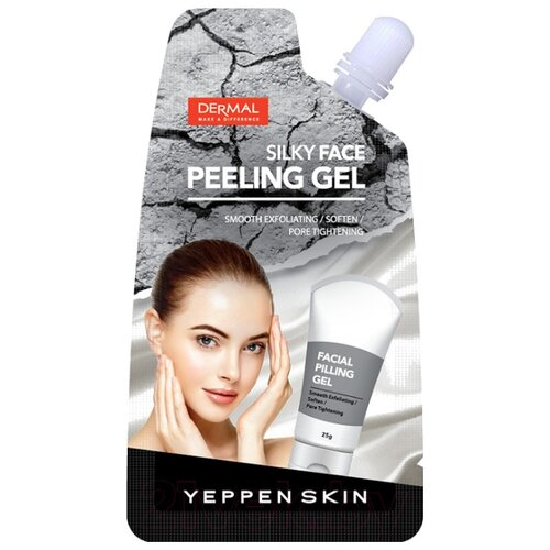 Yeppen Skin пилинг-гель для лица Skin Silky Face Peeling Gel 20 г
