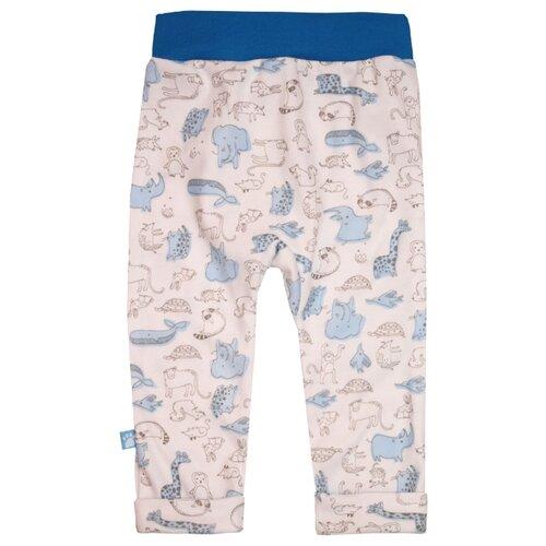Купить Брюки KotMarKot Воздушный зоопарк 5030287 размер 62, голубой, Брюки и шорты