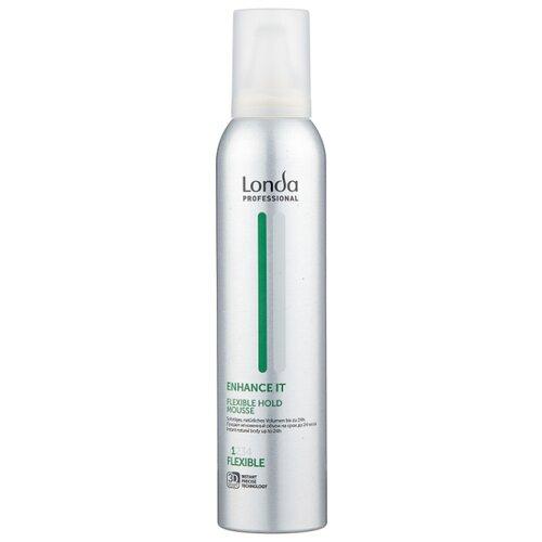 Londa Professional Enhance It пена для укладки волос нормальной фиксации, 250 мл expand it пена для укладки волос сильной фиксации 250 мл londa professional styling