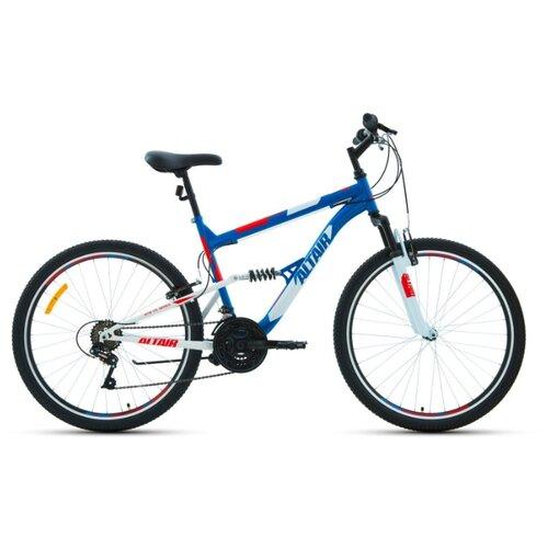 """Горный (MTB) велосипед ALTAIR MTB FS 26 1.0 (2020) синий 18"""" (требует финальной сборки)"""