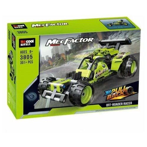 Купить Конструктор Jisi bricks (Decool) MecFactor 3805 Внедорожный гонщик, Конструкторы