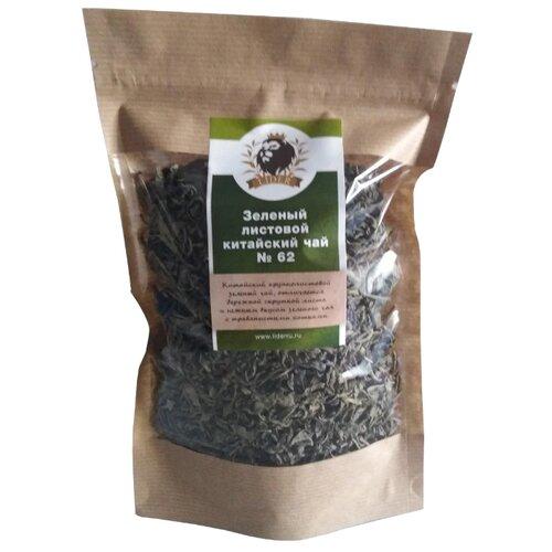 Чай зеленый Lider китайский листовой № 62 , 100 г цена 2017
