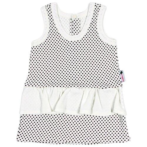 Платье Клякса размер 26-86, экрю