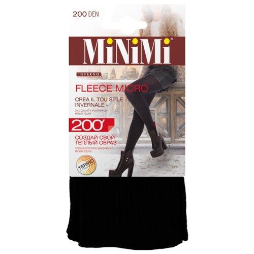Фото - Колготки MiNiMi Fleece Micro, 200 den, размер 2-S/M, nero (черный) колготки minimi elegante 40 den размер 2 s m nero черный