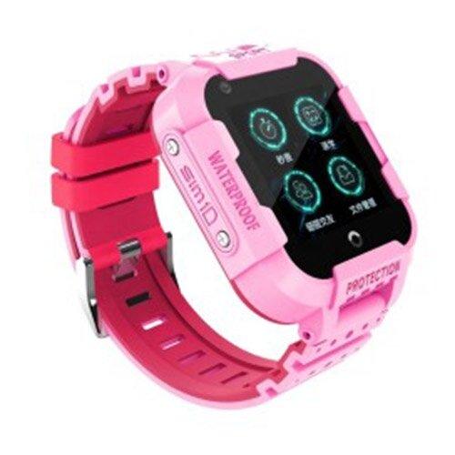 Часы Smart Baby Watch KT12 розовый