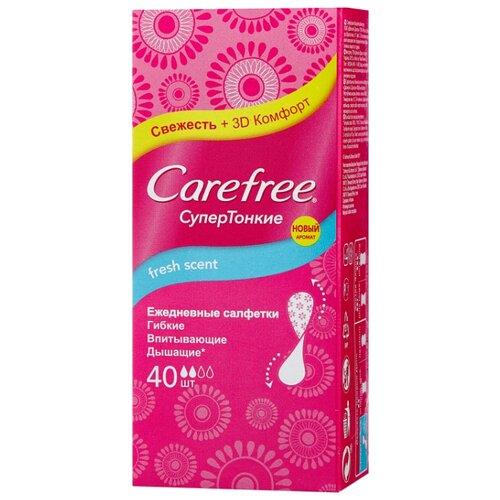 Carefree прокладки ежедневные Fresh scent 40 шт.