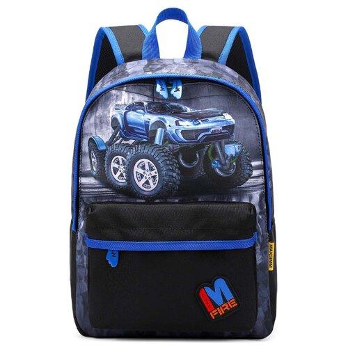 Купить Maksimm рюкзак К721, синий/черный, Рюкзаки, ранцы