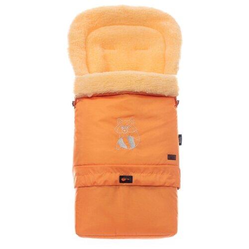 цена Конверт-мешок Nuovita Alaska Pesco меховой трансформер 83 см оранжевый онлайн в 2017 году