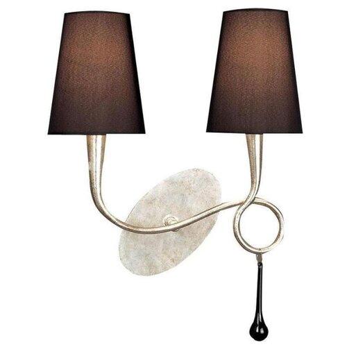 Настенный светильник Mantra Paola 3537, 80 Вт
