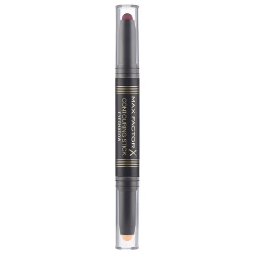 Max Factor Тени-карандаш для век Eyeshadow Contouring Stick 004 burgundy & pink sand max factor карандаш для глаз kohl pencil оттенок 060 ice blue