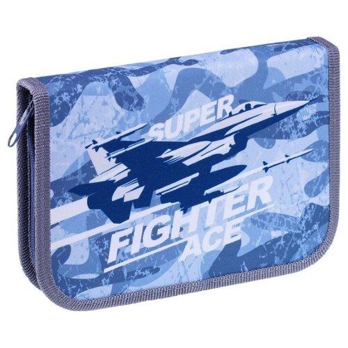 Купить ArtSpace Пенал Fighter (ПТ1_29074) синий, Пеналы