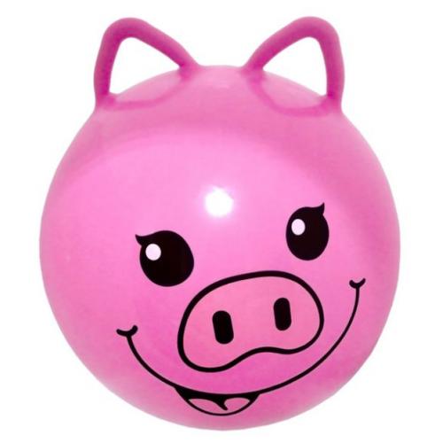 Мяч-попрыгун Moby Kids Хрюша розовый мягкая сумочка хрюша на длинном ремне 3251393 розовый