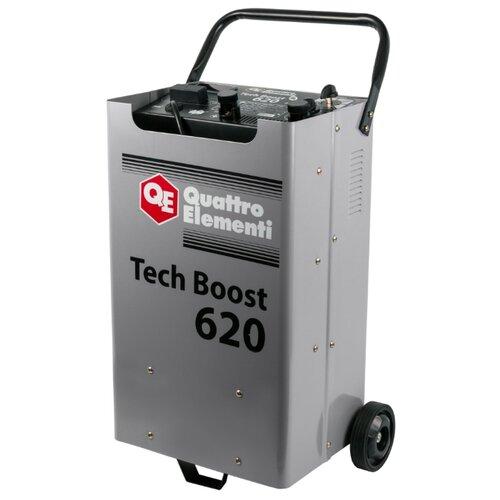 Пуско-зарядное устройство Quattro Elementi Tech Boost 620 (771-473) серый пуско зарядноеустройствоquattro