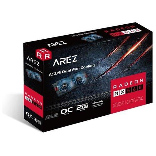 Видеокарта ASUS AREZ Radeon RX 560 1149MHz PCI-E 3.0 2048MB 6000MHz 128 bit DVI HDMI DisplayPort HDCP EVO OC Retail